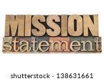 mission statement   business... | Shutterstock . vector #138631661
