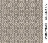 retro wallpaper  modern stylish ... | Shutterstock .eps vector #1386335477