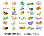 insect. eps8 file   no... | Shutterstock .eps vector #138634211