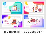 internet casino services and... | Shutterstock .eps vector #1386353957