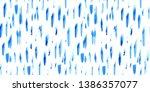 seamless pattern of hand made... | Shutterstock . vector #1386357077