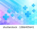 abstract healthy and medical...   Shutterstock .eps vector #1386405641