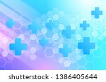 abstract healthy and medical...   Shutterstock .eps vector #1386405644