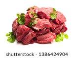 Boneless  Lamb Steak Meat With...