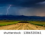 Lightning Over The Agricultural ...