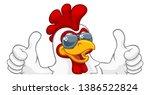 A Chicken Rooster Cockerel Bir...