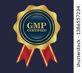 good manufacturing practice.... | Shutterstock .eps vector #1386557234