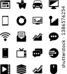 vector simple icon set   chat... | Shutterstock .eps vector #1386576254