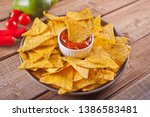 Mexican Corn Chips Nachos With...
