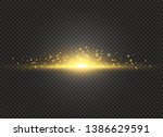to center a bright flash.... | Shutterstock .eps vector #1386629591