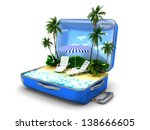 package beach vacation | Shutterstock . vector #138666605