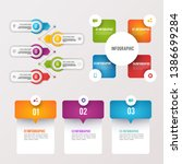 infographic elements collection.... | Shutterstock .eps vector #1386699284