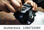 close up of camera matrix...   Shutterstock . vector #1386710384