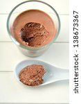 chocolate mousse | Shutterstock . vector #138673367