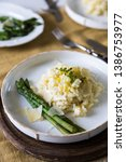 creamy lemon risotto with...   Shutterstock . vector #1386753977