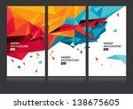 vector background set eps10 | Shutterstock .eps vector #138675605