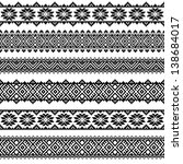 border decoration elements... | Shutterstock .eps vector #138684017