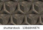 3d Tiles Old Brown Relief...