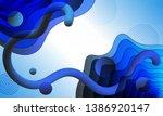 vector memphis style banner... | Shutterstock .eps vector #1386920147