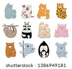 happy mother's day collection....   Shutterstock .eps vector #1386949181