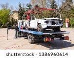 anapa  russia   april 27  2019  ... | Shutterstock . vector #1386960614