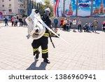 anapa  russia   april 27  2019  ... | Shutterstock . vector #1386960941