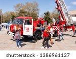 anapa  russia   april 27  2019  ... | Shutterstock . vector #1386961127