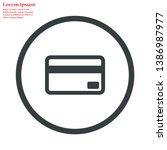 credit card vector icon 10 eps  ...
