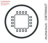 chip vector icon 10 eps   lorem ...