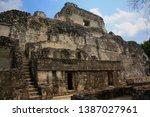 Structure Iv Maya Pyramid Of...