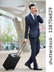 portrait of a traveling... | Shutterstock . vector #138706829