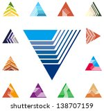 Design Triangle  Arrow Logo...