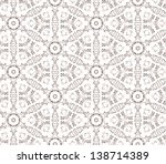 lace seamless texture. seamless ... | Shutterstock .eps vector #138714389