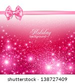gorgeous holiday background... | Shutterstock .eps vector #138727409