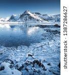long exposure in lofoten... | Shutterstock . vector #1387286627