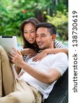 young indonesian couple   man... | Shutterstock . vector #138730619