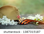 holiday victory day background. ... | Shutterstock . vector #1387315187