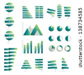 infographic collection. | Shutterstock .eps vector #138734585