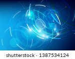 abstract background for cyber... | Shutterstock .eps vector #1387534124
