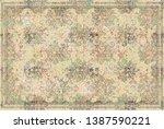 art vintage  traditional... | Shutterstock . vector #1387590221