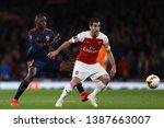 henrikh mkhitaryan of arsenal... | Shutterstock . vector #1387663007