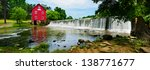 Panoramic Of Starr\'s Mill  A...