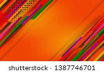 abstract background with... | Shutterstock .eps vector #1387746701