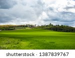 eye catching landscape with... | Shutterstock . vector #1387839767