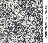 seamless geometric pattern | Shutterstock .eps vector #138789551