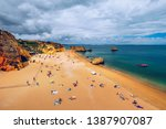 Praia Dona Ana Beach With...