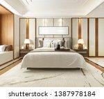 3d rendering luxury modern... | Shutterstock . vector #1387978184