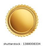 gold coin sign isolated on a... | Shutterstock . vector #1388008334