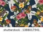 vintage beautiful and trendy...   Shutterstock . vector #1388017541