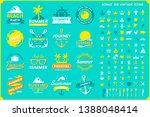 vintage retro vector logo for... | Shutterstock .eps vector #1388048414